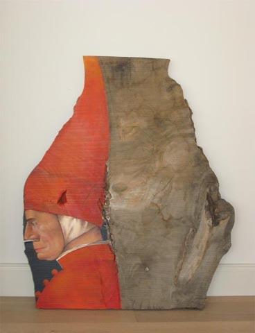 """DER DOGE"" Nach Gentile Bellini, Öl / Holz, ca. 75 x 88 cm"