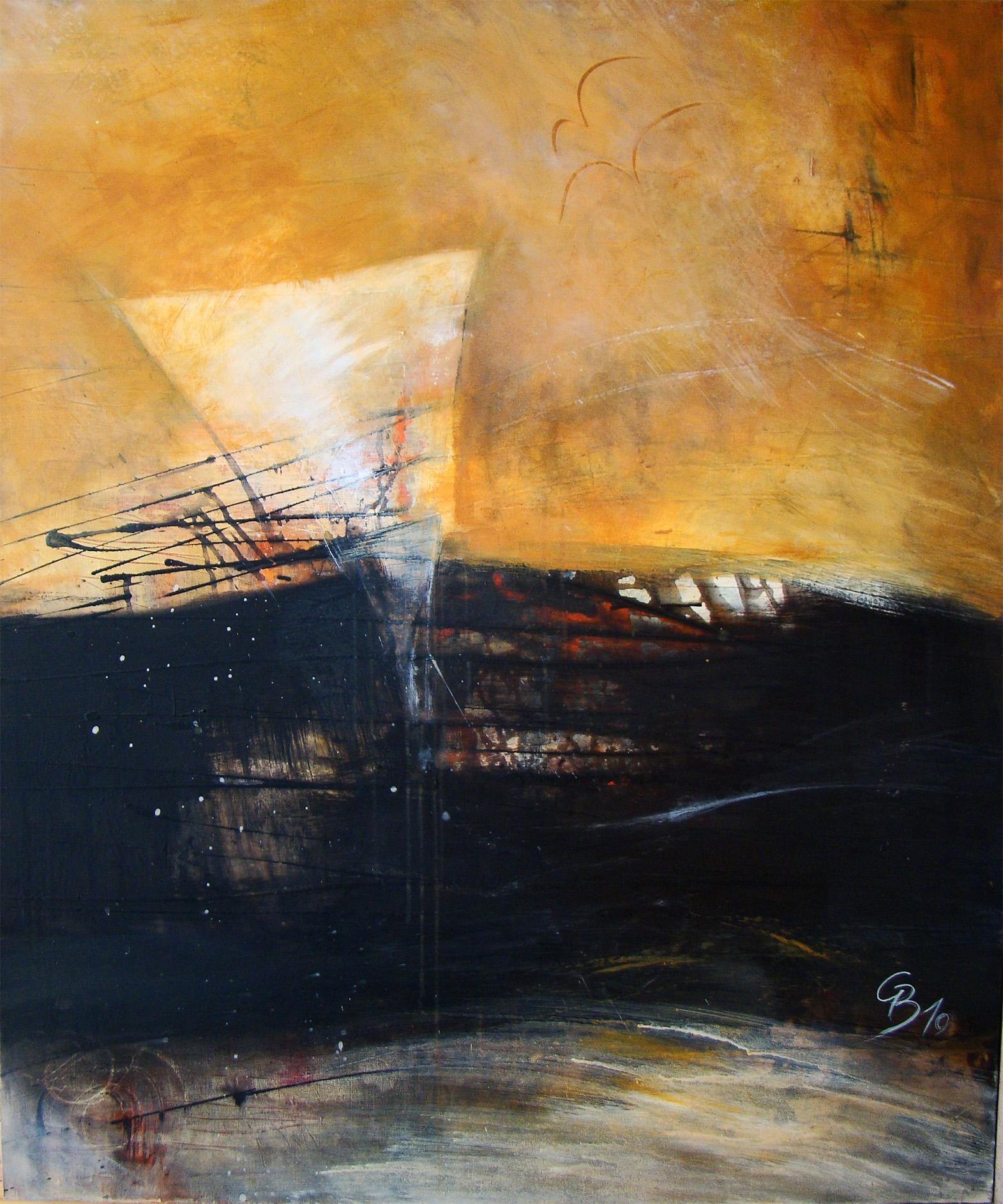 """EMOTIONAL"" Acryl, 100 x 120 cm"