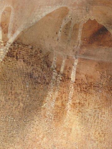 """""""LA ZISTERNA"""" Acryl / Leinen, 70 x 140 cm"""
