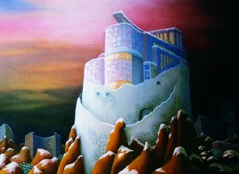 """""""ANALOGE ZEITEBENEN"""" Pastell, ca. 63 x 45 cm"""