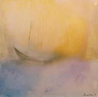 O.T. 2019, Acryl / Leinen, 50 x 50 cm